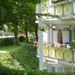 Wohnanlage Haus am Wald Ratingen - Balkon im Grünen