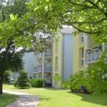 Wohnanlage Haus am Wald Ratingen - Rückseite der Wohnanlage