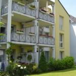 Wohnanlage Haus am Wald Ratingen - Blick auf Balkon und Terrasse