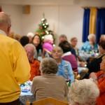 Weihnachtsfeier 2012 der Wohnanlage Haus am Wald Ratingen - Bewohner